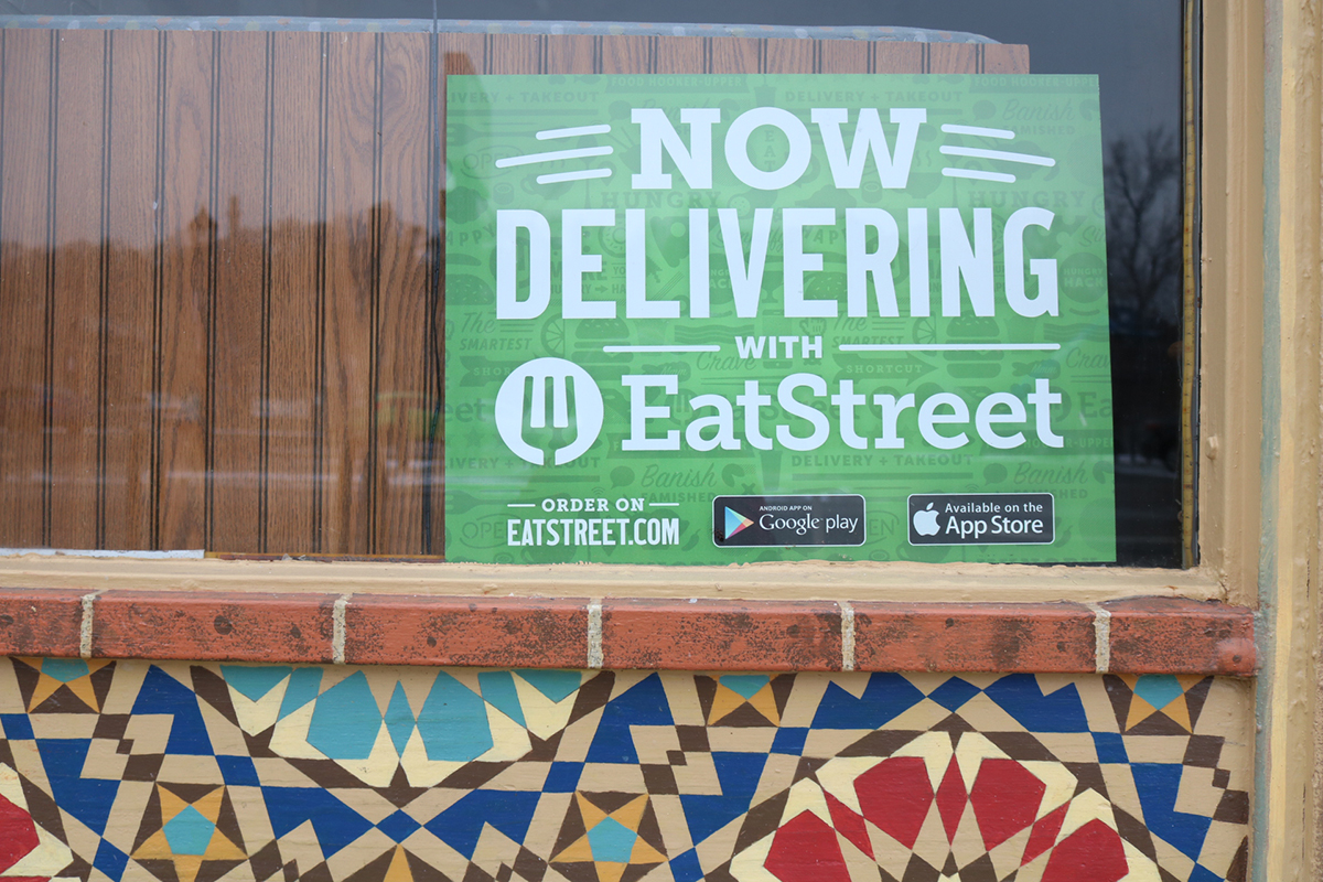 Gyro King on Water Street is one of several businesses adopting EatStreet's delivery service.