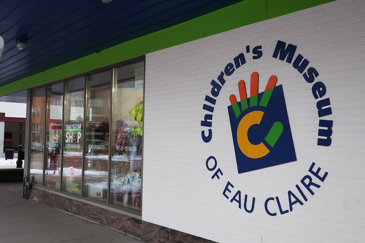 The Children's Museum of Eau Claire is currently located at 220 S. Barstow St., Eau Claire.