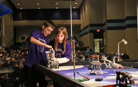 26 teams participate in Blugolds Beginnings Robotics Competition