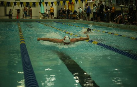 Rochester meet garners notable performances from the men's and women's swimming and diving teams
