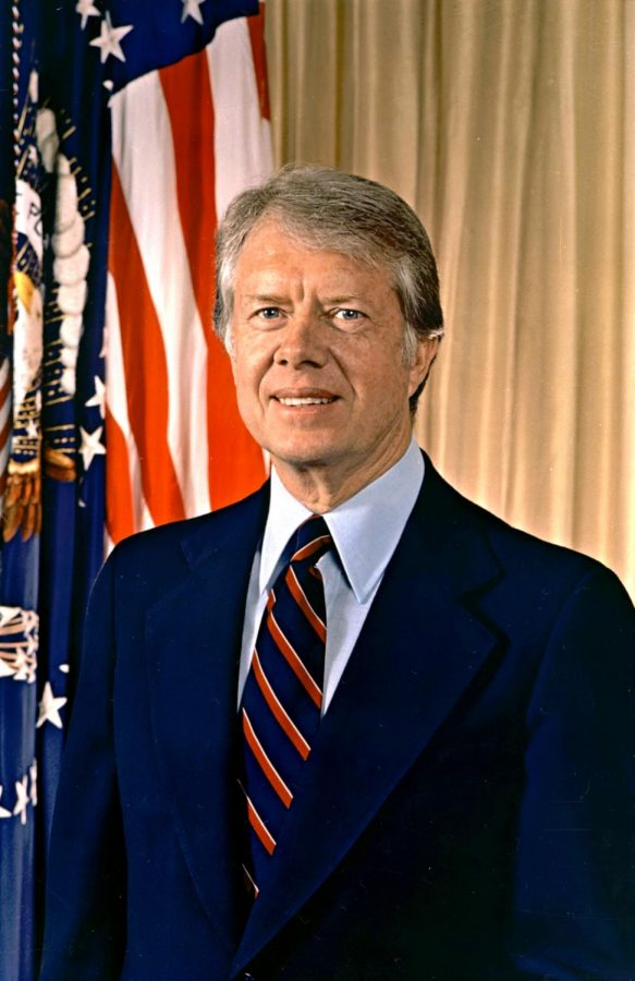 Renewable Energy pioneer and former president Jimmy Carter