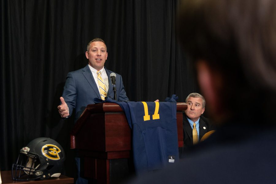 Beschorner takes over as the Blugolds' 17th coach in history after their best season since 2012.