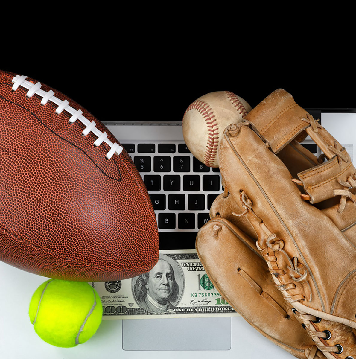 Bets are often made on big sporting events such as the Super Bowl which was held Saturday.
