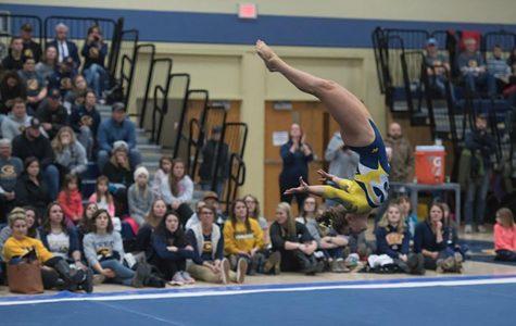 UW-Eau Claire gymnastics team achieves narrow victory