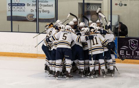 Men's hockey advances past conference semifinals