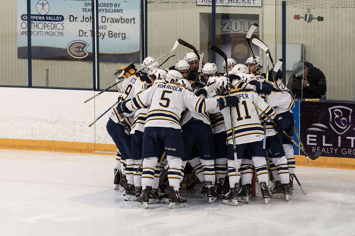 The Blugolds left Hobbs with a win, a loss and an advance to conference in Stevens Point next weekend.