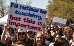 Oklahoma bill to stop teachers from walking out?