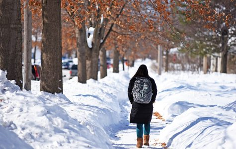 Record February snowfalls mean business as usual for UWEC