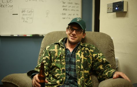 "Charlie Berens, the man behind the YouTube series ""Manitowoc Minute,"" swung by UW-Eau Claire last weekend on his ""Oh My Gosh!"" tour. The tour name, of course, coming from one of his many catchphrases in the videos."