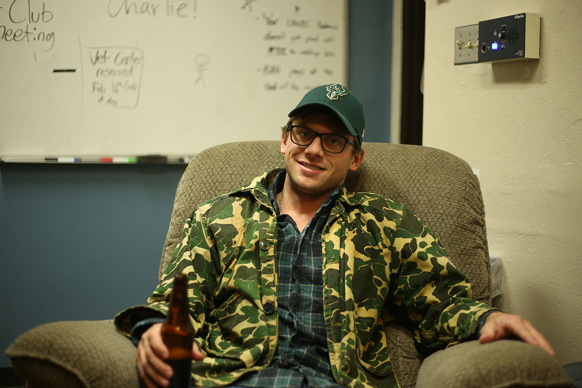 """Charlie Berens, the man behind the YouTube series """"Manitowoc Minute,"""" swung by UW-Eau Claire last weekend on his """"Oh My Gosh!"""" tour. The tour name, of course, coming from one of his many catchphrases in the videos."""