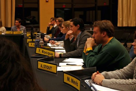 Student Senate confirms director appointments for 62nd Session