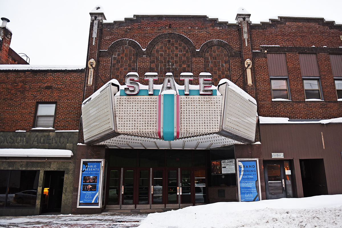 The State Theater, located in downtown Eau Claire, originally opened its doors in 1926.