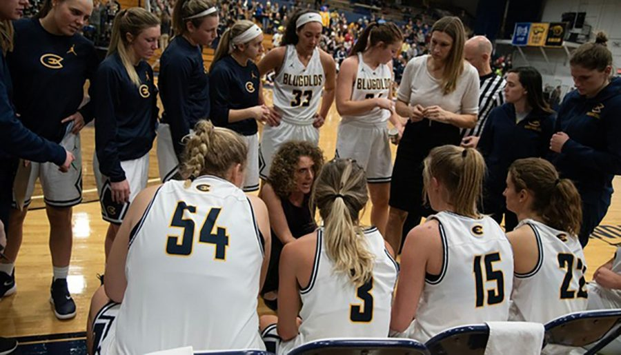 The Blugolds stay determined despite their losing streak.