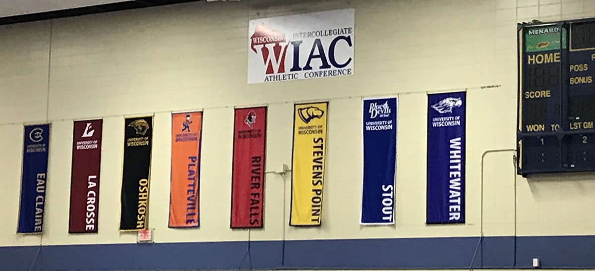UW-Eau Claire hosted the WIAC Wrestling Championship in the McPhee Center on Feb. 8th.