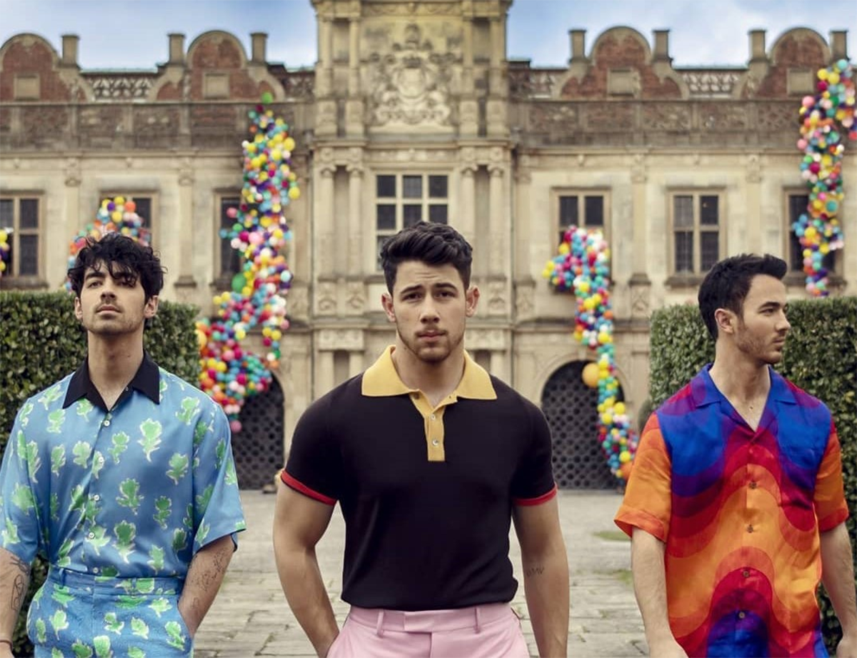Jonas Brothers from their newly released music video 'Sucker.'