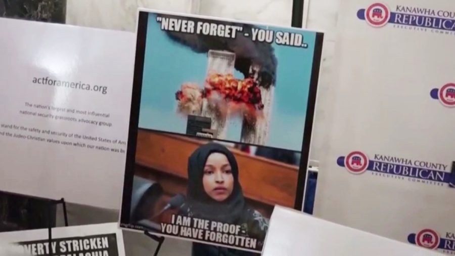 Ilhan+Omar+is+serving+as+one+of+the+first+Muslim+members+of+Congress+in+U.S.+history.