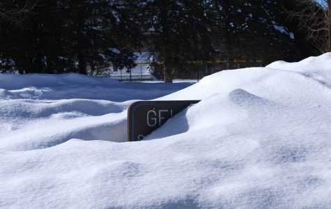 After a record-setting 53.7 inches of snow last month, February beat out Eau Claire's month-long snowfall record of 35.3 inches.
