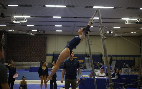 UW-Eau Claire gymnastics team defeated in last dual meet