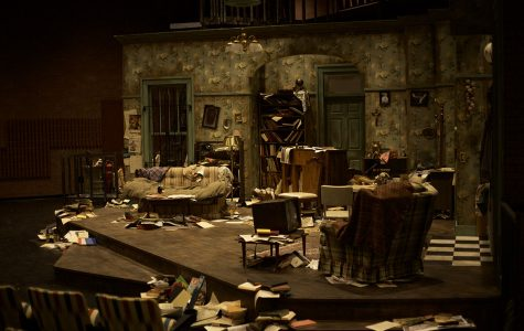 The Set of House of Blues was made from scratch between the performers and crew members.