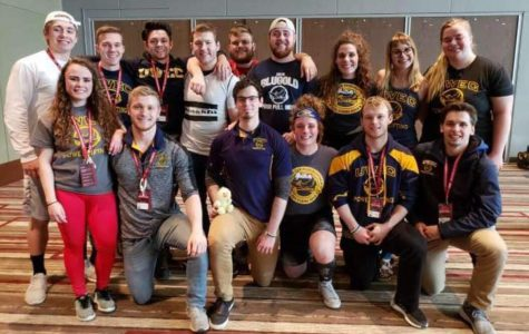 UW-Eau Claire powerlifting club made its way to collegiate nationals
