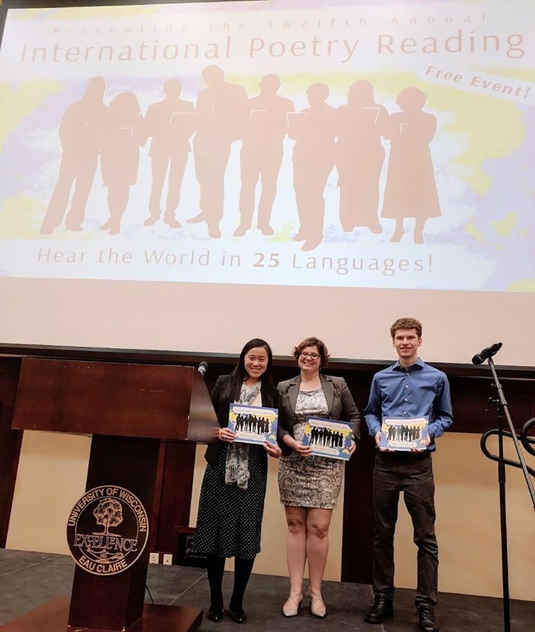 The 13th International Poetry Reading will feature at least 25 different languages and will be held on April 2 in the Davies Center.