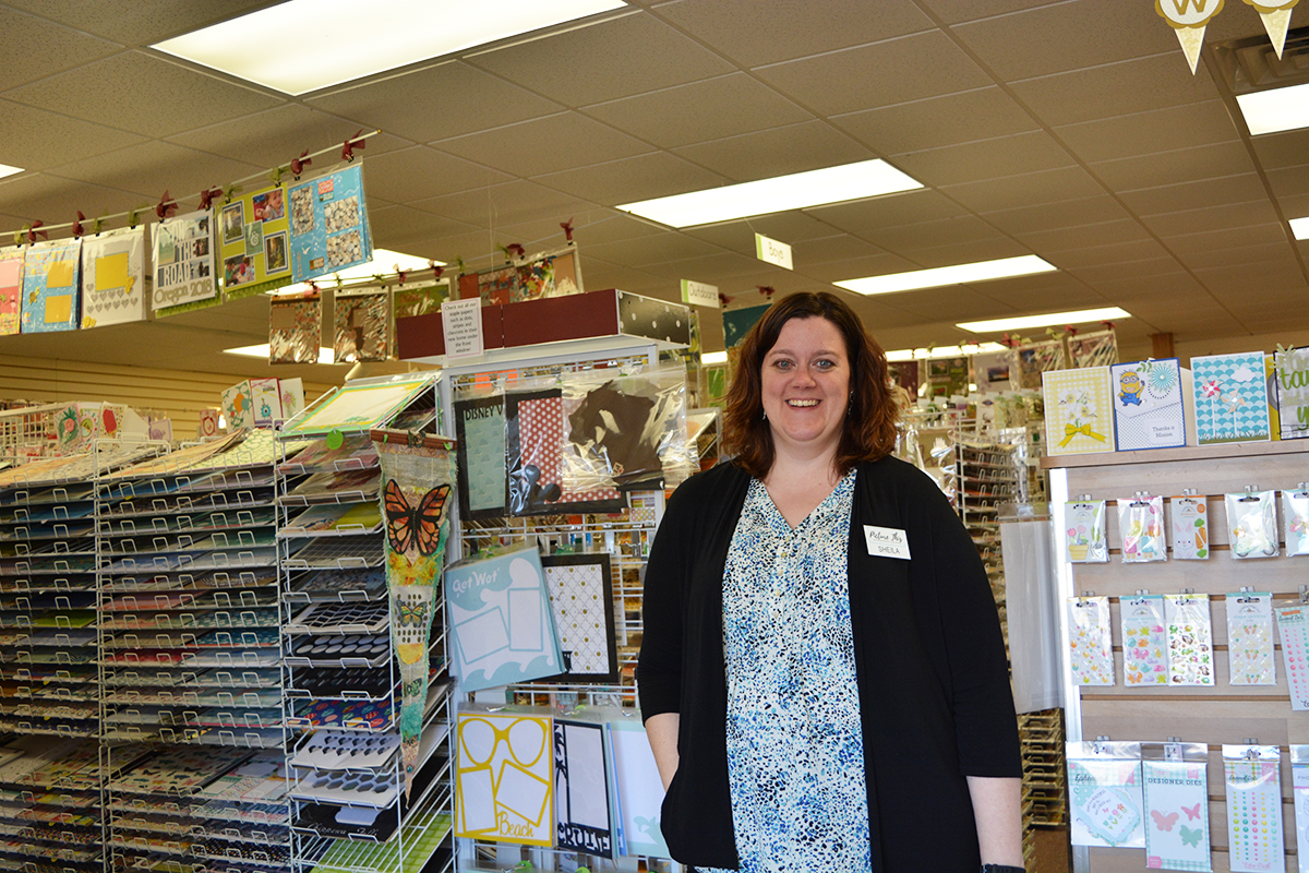 Sheila Earp, the new owner of Picture This, became the new owner on Jan. 31. She said she had always wanted to own a scrapbooking store.