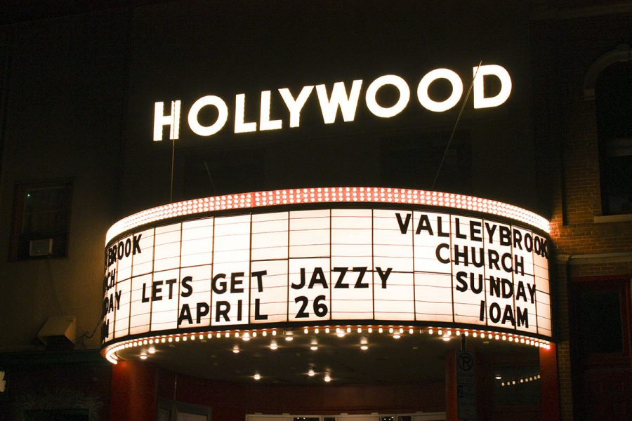 Valleybrook+Church%E2%80%99s+sign+for+Jazz+Fest+lit+up+the+night.