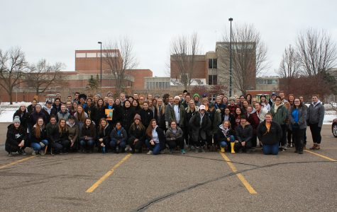 Around 100 volunteers participated in Global Youth Service Day on Saturday.