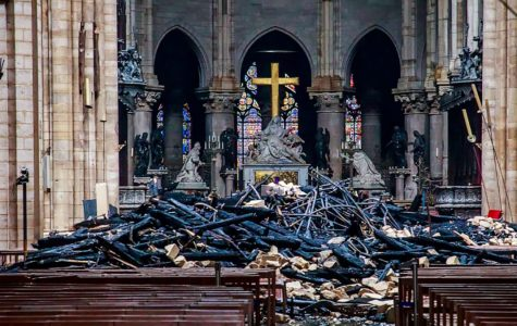 Notre-Dame damaged in extensive fire