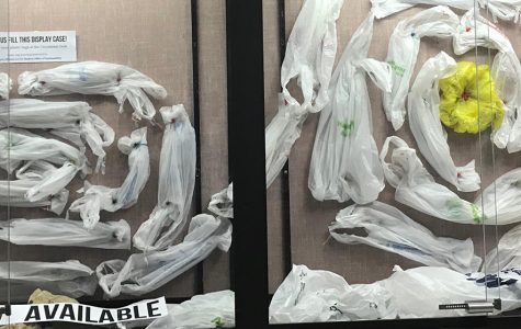 McIntyre Library kicks off plastic bag recycling drive