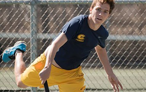 Men's tennis pick themselves up after initial fall