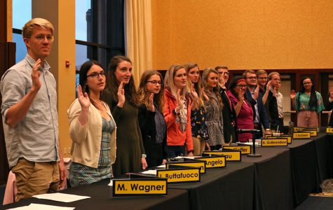 63rd Session of Student Senate sworn in