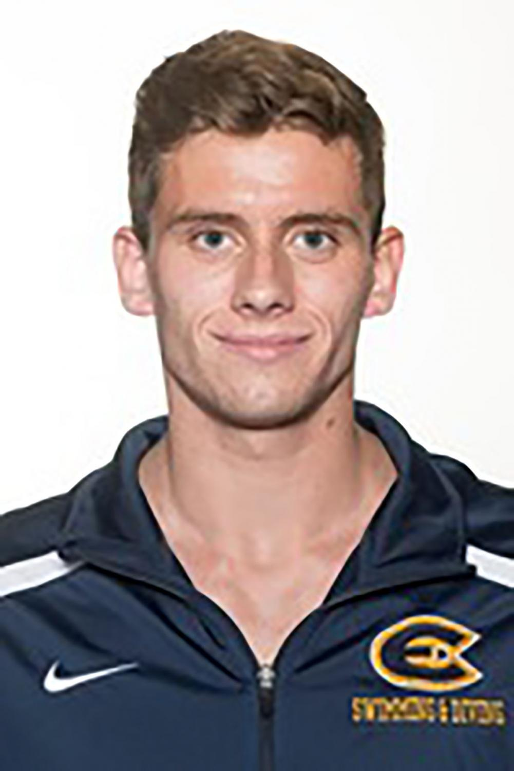 SUBMITTED Dylan Glumac-Berberich is a third-year diver on the UW-Eau Claire swimming and diving team.