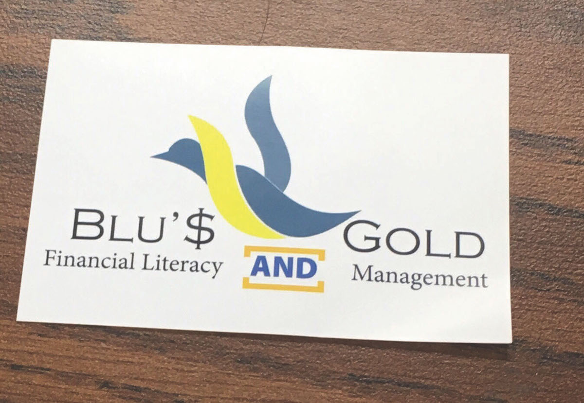 The Blu$Gold Financial Management organization meets on Thursdays in McIntyre Library.