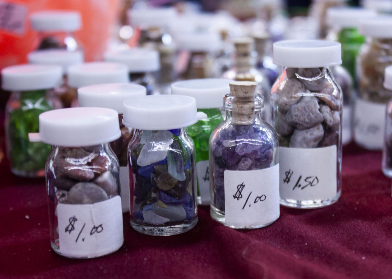 Bottled+gemstones+were+sold.