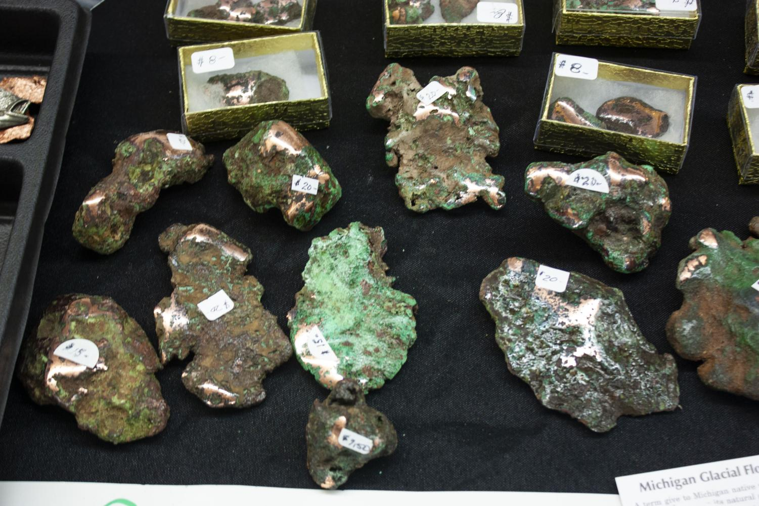 Michigan+Glacial+Float+Copper%2C+a+term+given+to+Michigan+native+vein+copper+that+has+been+removed+from+its+natural+geological+deposits+by+glacial+activity.+These+pieces+of+copper+are+most+recognizable+by+the+green+patina+that+has+developed+on+it+surface.