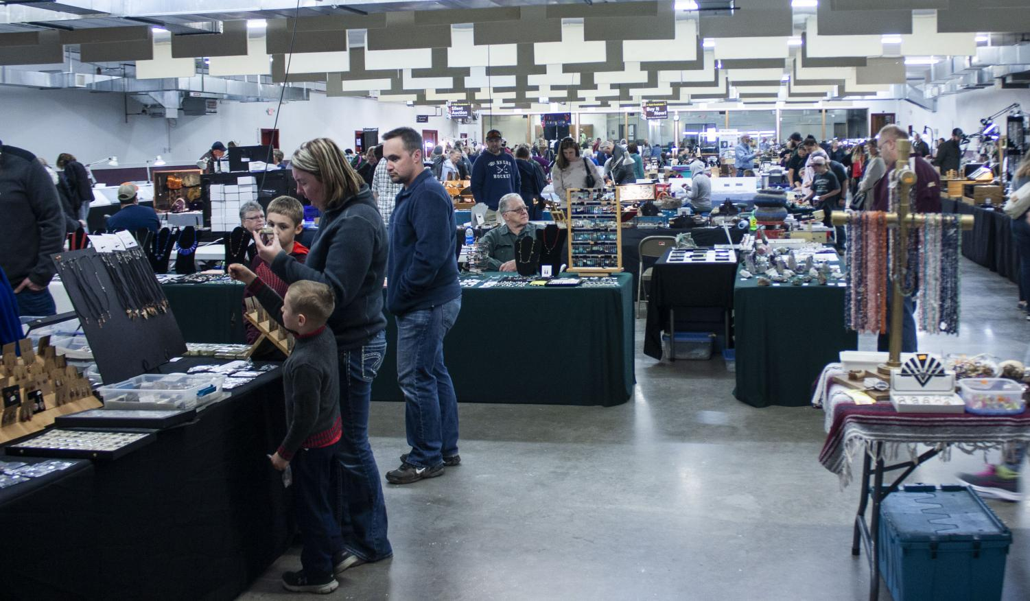 Vendors+and+buyers+alike+filled+the+Eau+Claire+Expo+Center+on+Saturday+and+Sunday+for+the+56th+annual+Chippewa+Valley+Gem+%26+Mineral+Society+show+and+sale.