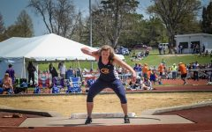 Faith, first place and shot put