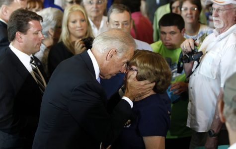 Joe Biden's touchy behavior may finally be put to rest