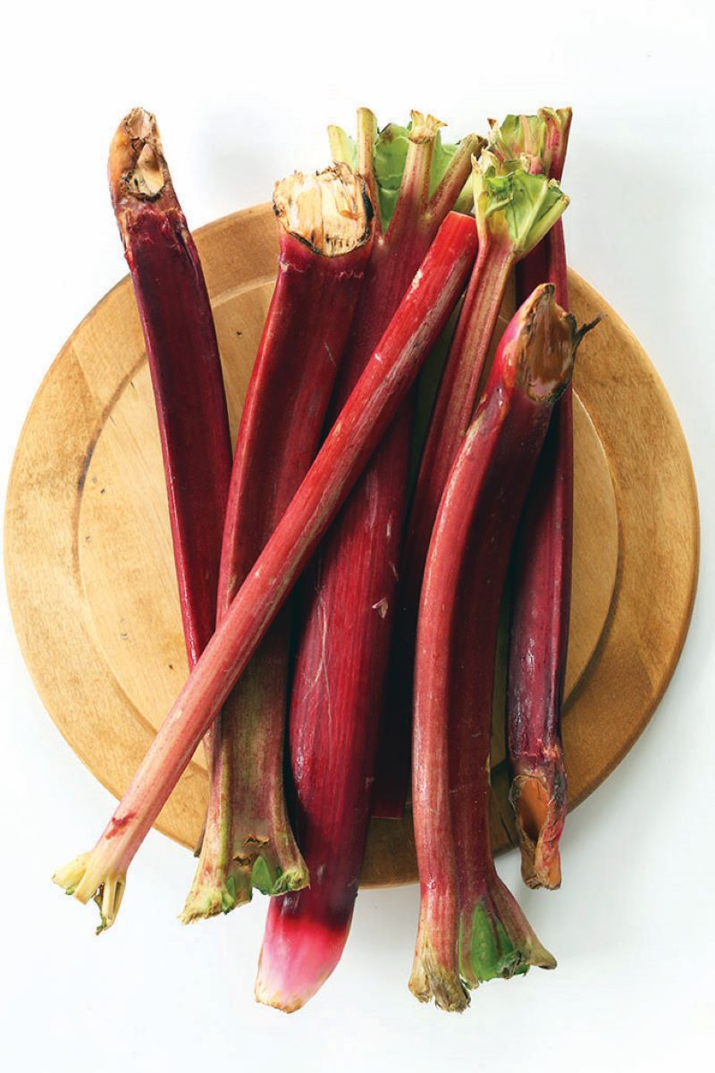 Rhubarb has gotten a bad rap in the past thanks to old myths about poisonous foods.