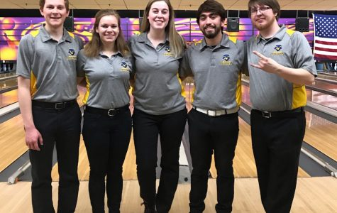 The UW-Eau Claire bowling club team is still going strong after 30 years of competing