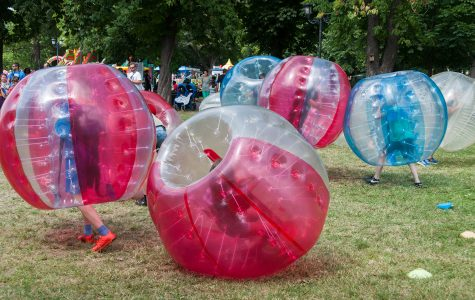 Bubble soccer coming to UW-Eau Claire