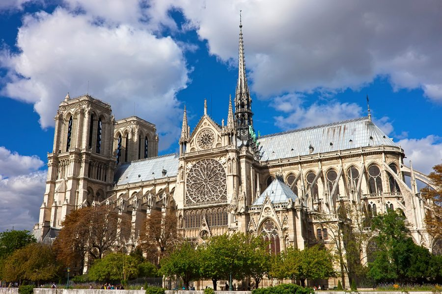 The+Notre-Dame+Cathedral+is+on+the+global+stage+as+donations+sent+to+fix+fire+damage+pour+in.