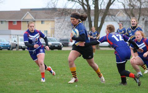 Women's rugby tackles competition
