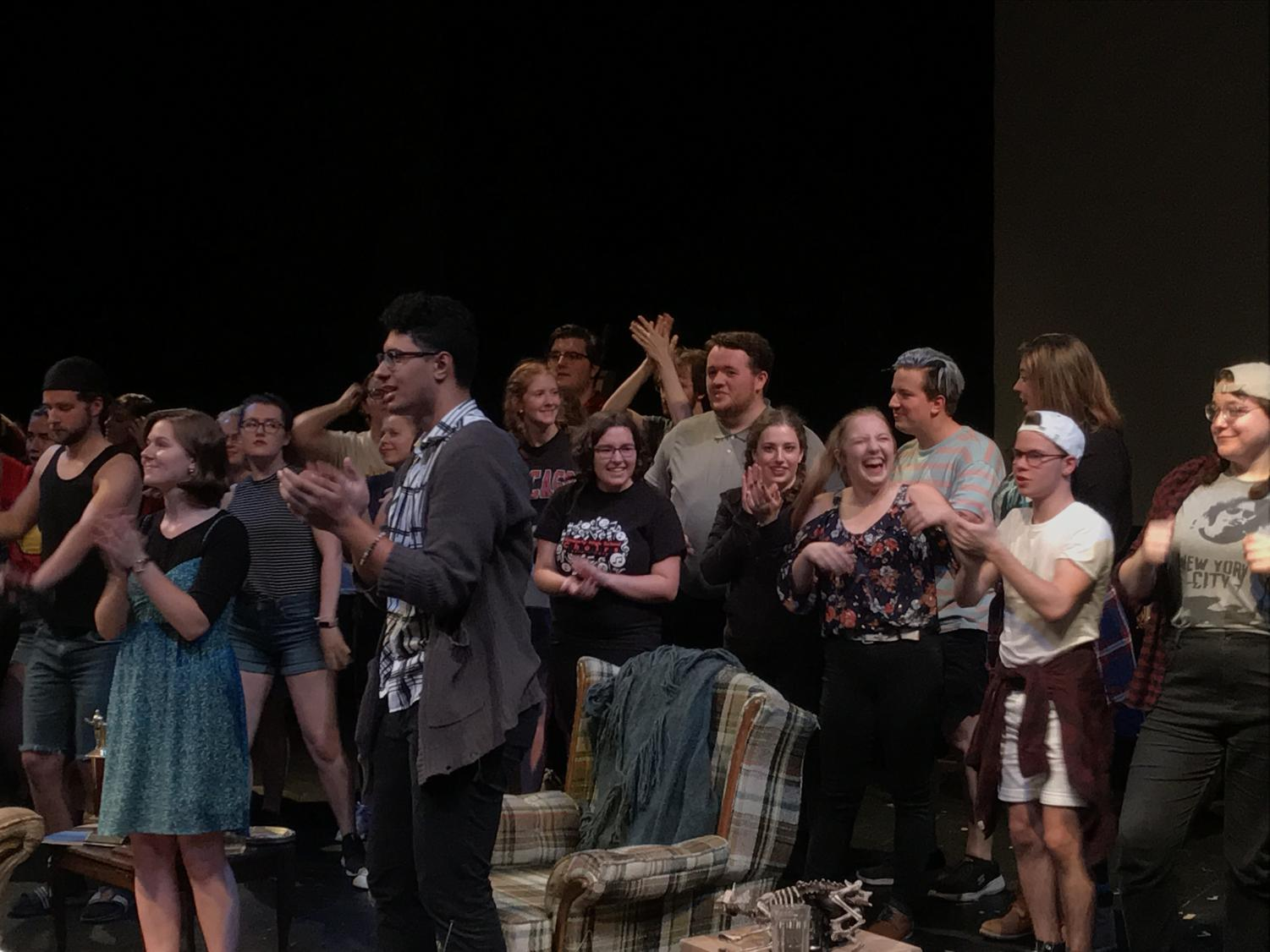 The 24 hour show was held at 7:30 p.m. on Sept. 21 in the Riverside Theatre of the Haas Fine Arts Center.