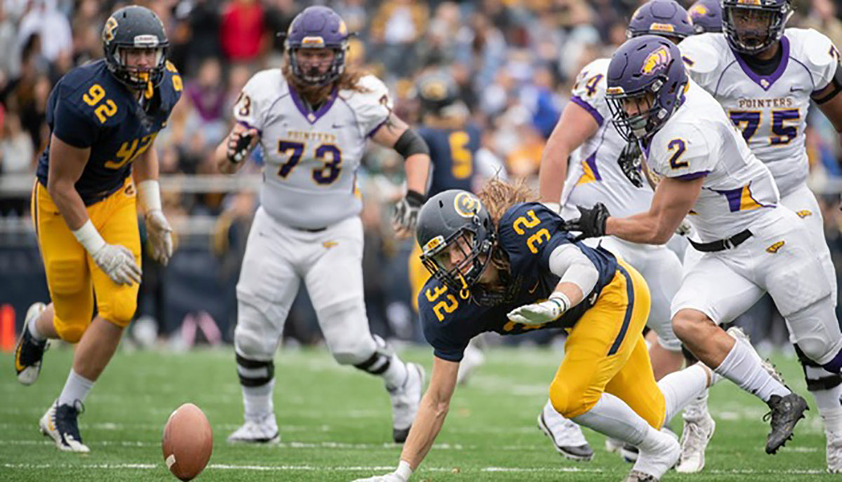 Romanski earned second-team honors last season after leading the Blugolds with 59 tackles and 14.5 sacks that led the conference.