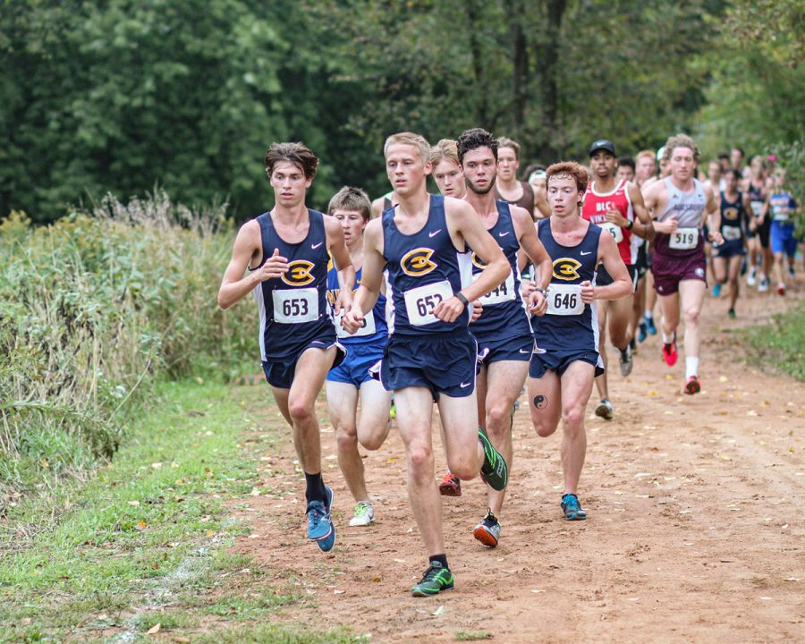 The Blugolds run on Friday Oct. 4 at home for the Blugold invite.
