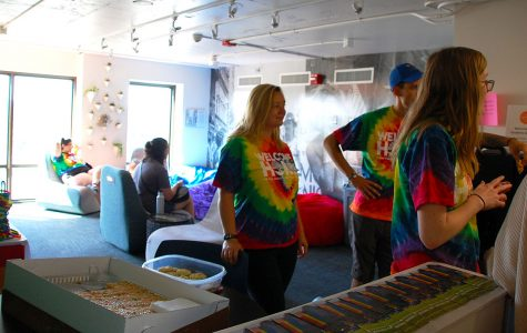 """The """"Rainbow Floor"""" offers LGBTQ students and allies a safe, inclusive space to live for the duration of the school year, Christopher Jorgenson said."""