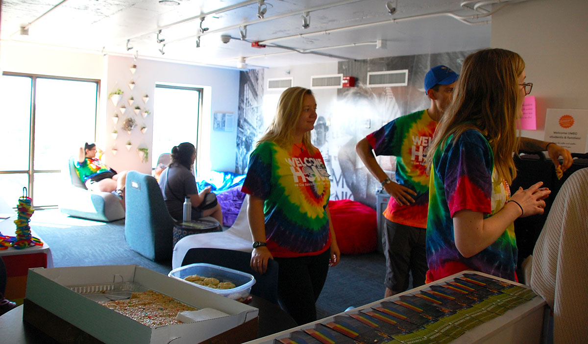 "The ""Rainbow Floor"" offers LGBTQ students and allies a safe, inclusive space to live for the duration of the school year, Christopher Jorgenson said."