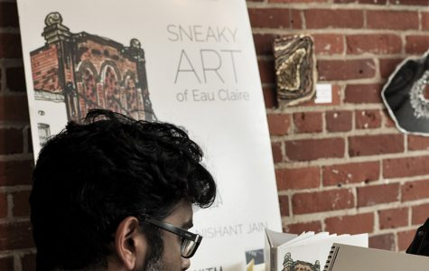 Nishant Jain, otherwise known as The Sneaky Artist, sits down to doodle his surroundings and those who pick up his book.